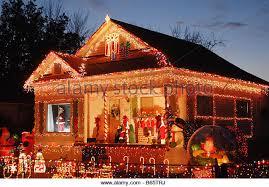 christmas lights on house in stock photos u0026 christmas lights on