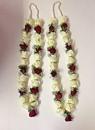 wedding garland and white garland wedding garlands