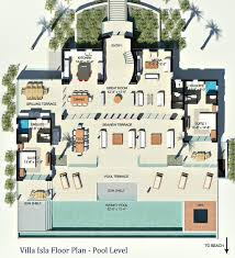 Villa Floor Plan by Floor Plan U2013 4 2 Million Luxury Villa Isla U2013 Providenciales