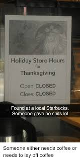 store hours for thanksgiving open closed closed found