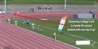 Track And Field Memes - video irish college track and field race includes a comeback for