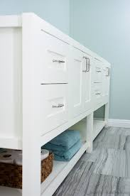 Build Your Own Bathroom Vanity Cabinet - bathroom 11 diy vanity plans you can build today your own mission