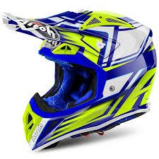motocross helmets 2018 airoh aviator 2 2 motocross helmet restyle yellow md racing