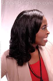 roller wrap hairstyle 20 age defying hairstyles for black women over 40