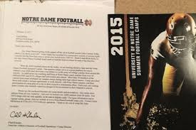 notre dame apparently sent recruiting letter to current rutgers