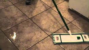 cleaning tile floor and seal grout lines youtube