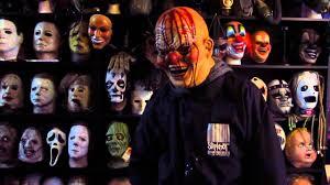 Slipknot Corey Taylor Halloween Masks by Slipknot Bloody Tattoo The Earth Clown Mask Youtube