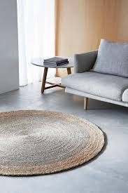 round rugs for living room why you need a round rug the life creative