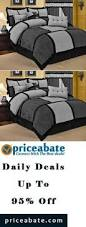 43 Best Bed In A by Priceabatedeals 10 Piece Queen Tranquil Black And Taupe Bed In A