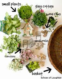 how to make a fairy garden u0026 4 other fabulous outdoor plant