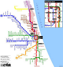 Subway Map by Subway Map Chicago Subway In Chicago Map United States Of America