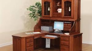 Real Wood Corner Desk Wooden Corner Computer Desk With Hutch Corner Computer Desk With