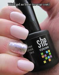 review s he stylezone 2in1 base u0026top gel polish cherry colors