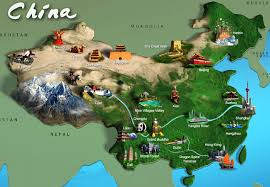 map attractions china travel map 2018 china attractions tourist map