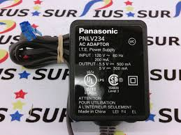 panasonic pnlv234 ac dc adapter main phone base power supply 5 5v