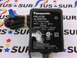 panasonic pnlv234 ac dc adapter main phone base power supply 5 5v