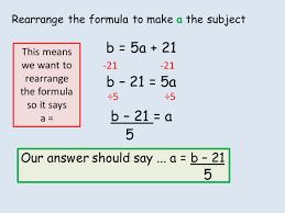 rearranging formula ks3 powerpoint lesson by alex1607