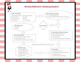 Bathroom Cleaning Schedule Form Bathroom Cleaning Checklist Best Bathroom Decoration