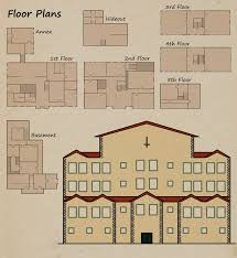 Floor Plan For Mansion Hetaoni Mansion Floor Plans By Arunhdan On Deviantart