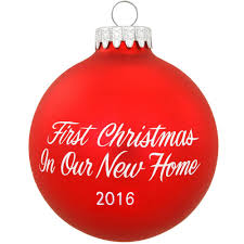 first christmas in our home ornament home design u0026 interior
