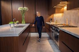 inside the kitchen of interior designer diego burdi the globe