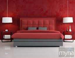 blood red paint when painting your home take cues from color psychology myria