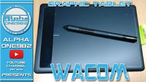 amazon wacom black friday 2016 wacom bamboo graphic tablet one by wacom unboxing youtube