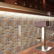 sticky backsplash for kitchen art3d 12 x 12 peel and stick backsplash tiles for kitchen