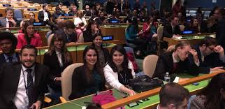 uno u0027s national model united nations team marks seven years of