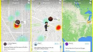home design story users snap map explore adds text statuses automatically for snapchat users