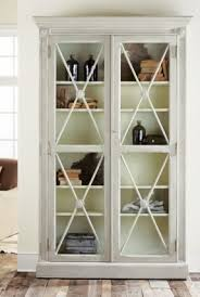 2 Shelf Bookcase With Doors French Country Bookcases Foter