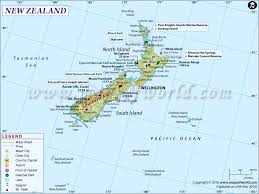 zealand on map me a map of zealand map