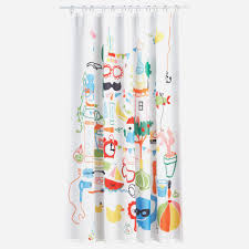 Shower Curtain Beach Theme Shower Phenomenal Nautical Themed Shower Curtain Hooks