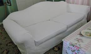 Camelback Sofa Slipcover by Custom Sofa Slipcovers