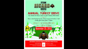 ricardo steak house in east harlem to donate 1000 thanksgiving