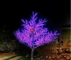 christmas tree lighting 2018 2018 2m height outdoor artificial christmas tree led cherry blossom
