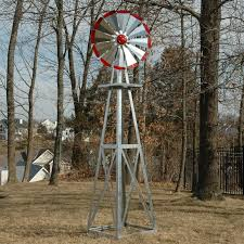 smv industries 8 ft windmill green and yellow hayneedle