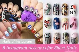 nails of instagram 8 top accounts for short nails