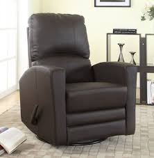 leather swivel glider chair concord baby austin swivel glider recliner walmart canada