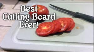best cutting board i ever used youtube