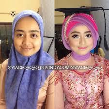 tutorial makeup natural hijab pesta my make up makeover and hijabstyle untuk wisuda tempat untuk