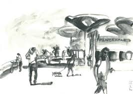 the good the bad and the ugly sketching at the atarim square