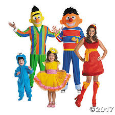 Halloween Costumes Sesame Street Group Halloween Costumes Oriental Trading