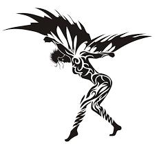 tribal angel by blackbeard 1987 on deviantart