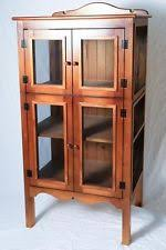 Pine Display Cabinets EBay - Kitchen display cabinet