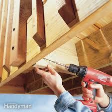 deck railing repair add block decking and deck railings