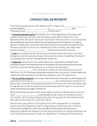 fill out a consulting agreement form online for free