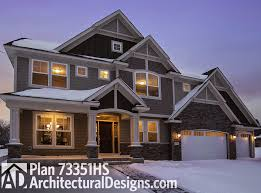 houseplan 73351hs is a storybook craftsman house plan with 4 beds