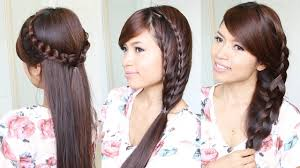 quick hairstyles for long hair at home photo quick hairstyles for medium hair open hairstyles for long