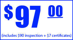 brake and light certificate brake and l inspection certification glendale ca